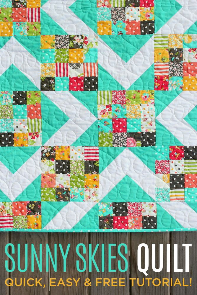 This quilt is so much easier than it looks!! FREE Video Tutorial and tons of step by step pictures!