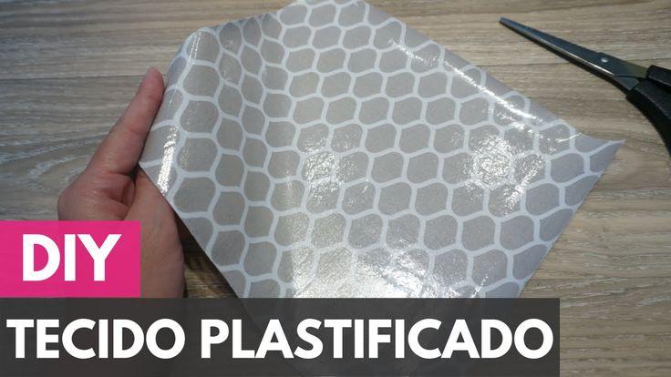 Como plastificar/impermeabilizar tecidos  DIY - Faça você mesmo