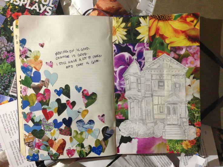 Love the journaling, yo!  Koi Pond (childofthemountains: Art journal!  Quote on...)
