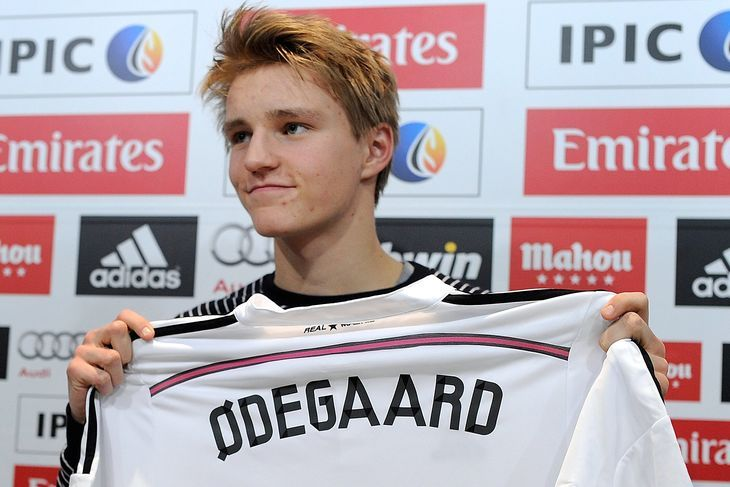 Real Madrid are bragging with Martin Odegaard