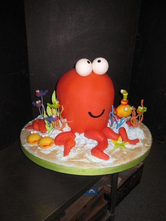 Океан Fun! - Детские торты ко дню рождения