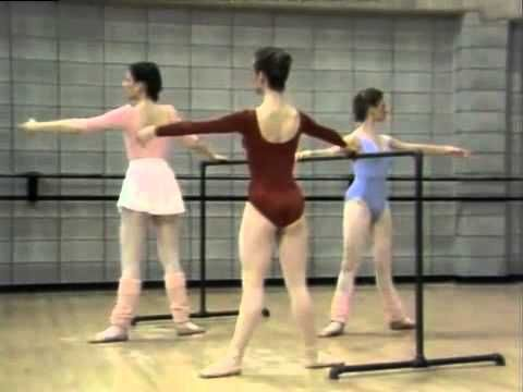 The New Ballet Workout Shaping and Toning level 2- barre similar to goh ballet and basic centre work