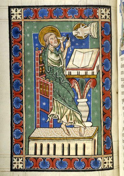 Evangelist Luke | Gospel book | Austria, probably in the monastery of Seitenstetten | between 1225 and 1275 | The Morgan Library & Museum