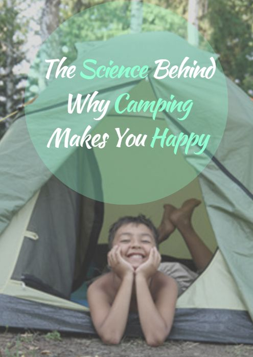 There are many reasons why campers are happy people. For one, camping forces us detach from our smartphones, the Internet and TVs and connect with nature instead. Here's how—and why—camping can positively impact your life. The Science Behind Why Camping Makes You Happy http://www.active.com/outdoors/articles/the-science-behind-why-camping-makes-you-happy?cmp=17N-DP10-BND30-SD70-DM10-T9-04182017-395