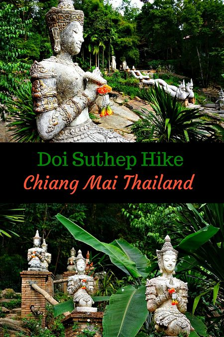 Doi Suthep Hike Chiang Mai. The Wat Soi Suthep is one of the most sacred and visited sites in Chiang Mai, Thailand. But if you decide to hike to the top rather than take the road you will find some beautiful and mysterious sites that may become your best memories of your trip to Thailand. Click to find out more! @venturists