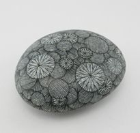 want to draw on rocks with pen
