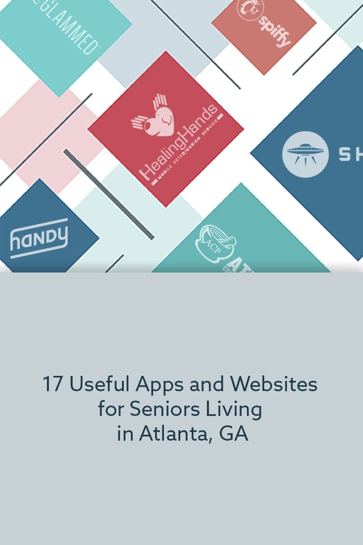 17 Useful Apps And Websites For Seniors Living In Atlanta Ga Cancer Health Care Atlanta