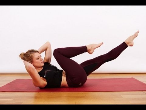 13 Minute Pilates Flat Belly Workout : Brand New Exercise Routine To Red...