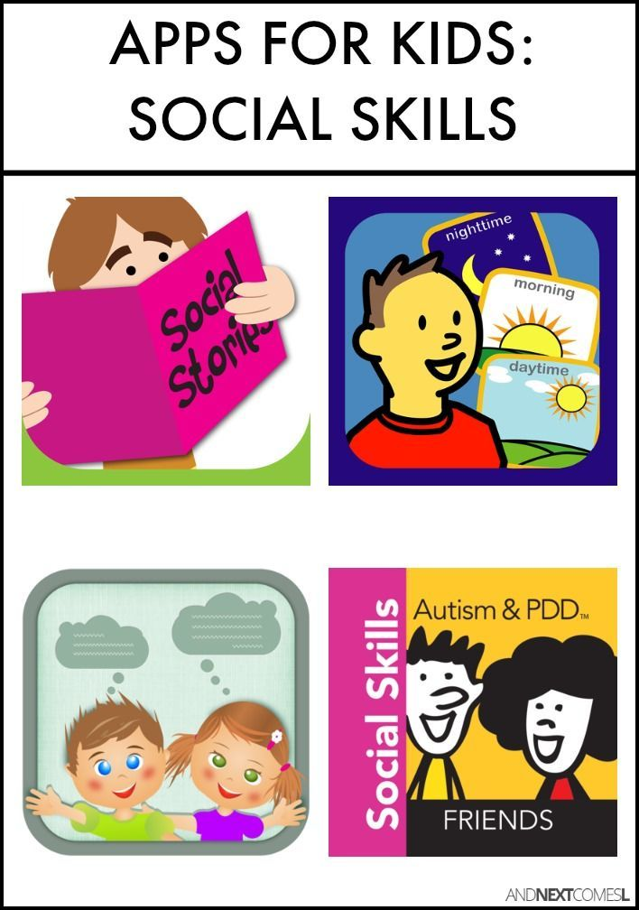 Social skills apps for kids with autism, hyperlexia, or other special needs from…