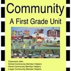 "This unit includes the definition of ""community""  and pictures of what a school community looks like.  Students can read books about community memb..."