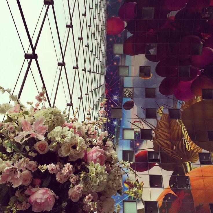 """#markthal #rotterdam #nl #mvrdv #sundayafternoon"""