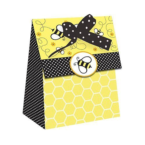 Buzz Fold Over Favor Bag Package Of 12 By Shindigz