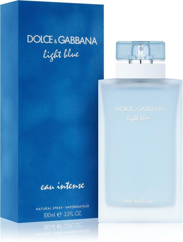 Dolce Gabbana Light Blue Eau Intensewoda Perfumowana Dla Kobiet Perfumes Femininos Light Blue Dolce Gabbana Perfume