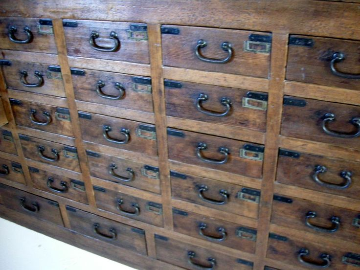 Very Large 19th Century Apothecary Chest   From A Unique Collection Of  Antique And Modern Apothecary