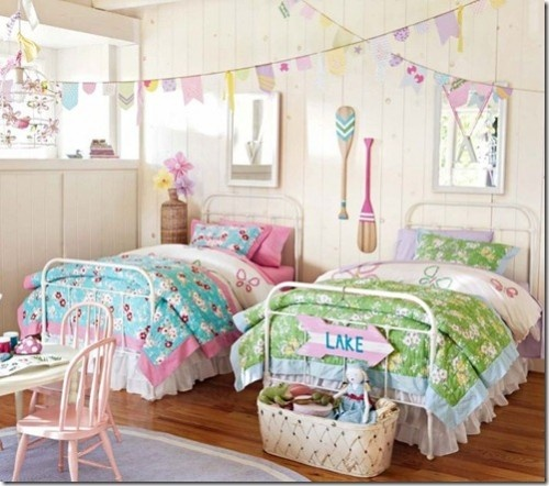 Twin Beds for Girls Idea