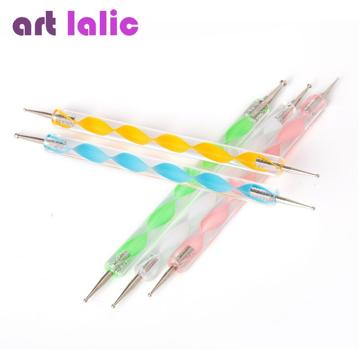 Professional 2-Way Nail Dotting Pen Marbleizing Painting Nail Tool Nail Art Pen Set For UV Gel Nail Tool Free Shipping #>=#>=#>=#>=#> Click on the pin to check out discount price, color, size, shipping, etc. Save and like it!