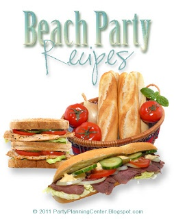 Gourmet Beach Party Sandwich Recipes