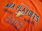 For Sale - Golden State Warriors T-Shirt Rare Authentic NBA Playoffs Attire XL 2007 Orange - http://sprtz.us/WarriorsEBay
