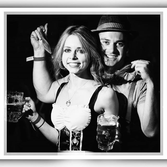 We sorta look like actors   This is another photo from #oktoberfest2016 at the #germanclub #kemblagrange this photo was featured in the #illawarramercury  had such a fun time at Oktoberfest!  #fun #funny #newspaper #beer #beerfest #octoberfest #festival #acting #posing #costume #barvarian #beermaid #wench #pint #stein #beerglass #alcohol #party #dressup #celebrate #bestday #germany #folk #vintage #retro