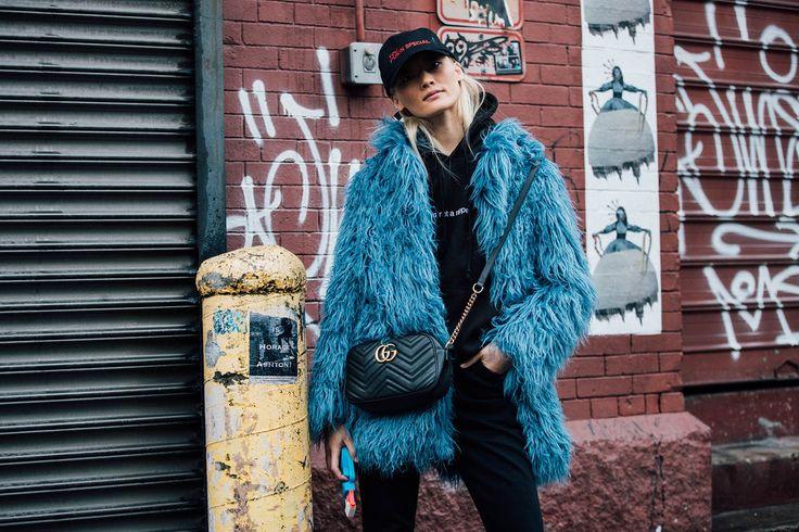 New York Fashion Week Herfst/Winter 2017 – tas Gucci