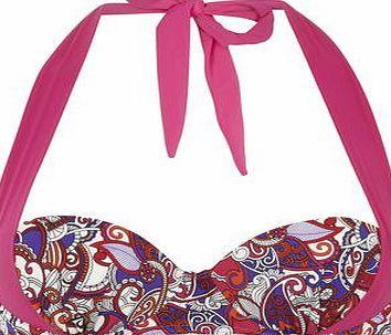 Dorothy Perkins Womens Paisly multiway Cupped Bikini Top- Multi Multi-coloured paisley print cupped multiway bikini top. 82% Polyamide, 18% Elastane. Machine washable. http://www.comparestoreprices.co.uk/swimsuits/dorothy-perkins-womens-paisly-multiway-cupped-bikini-top-multi.asp