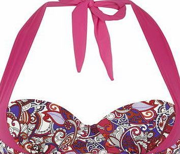 Dorothy Perkins Womens Paisly multiway Cupped Bikini Top- Multi Multi-coloured paisley print cupped multiway bikini top. 82% Polyamide, 18% Elastane. Machine washable. http://www.comparestoreprices.co.uk/swimsuits/dorothy-perkins-womens-paisly-multiway-cupped-bikini-top-multi.asp