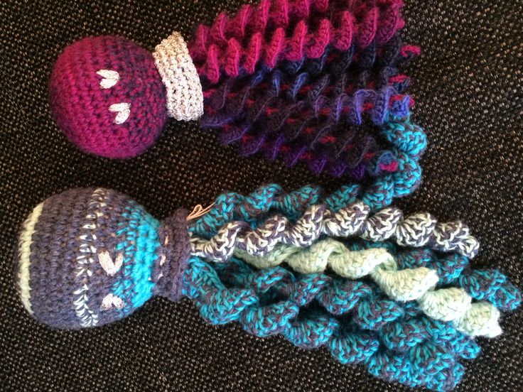 Crochet squid 2016 - Vilhelm 2016 - Petra