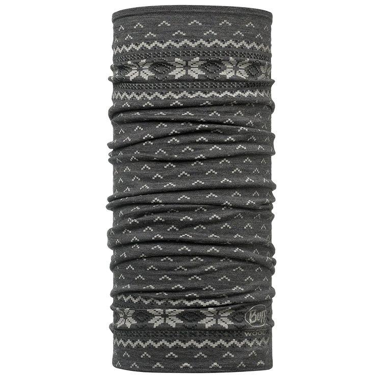 BUFF Wool – Paño tubular multisusos – El cuello y la cabeza son dos puntos clave a la hora de mantener el cuerpo caliente. Esta braga de cuello se convierte entonces en una prenda imprescindible. Esta, en concreto, está elaborada con pura lana de merino, una materia prima confortable, que evacúa bien el sudor y no adquiere olores. ¡Superrecomendable!
