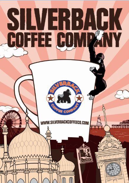 Wake up Brighton #brighton #design #poster #coffee #logo