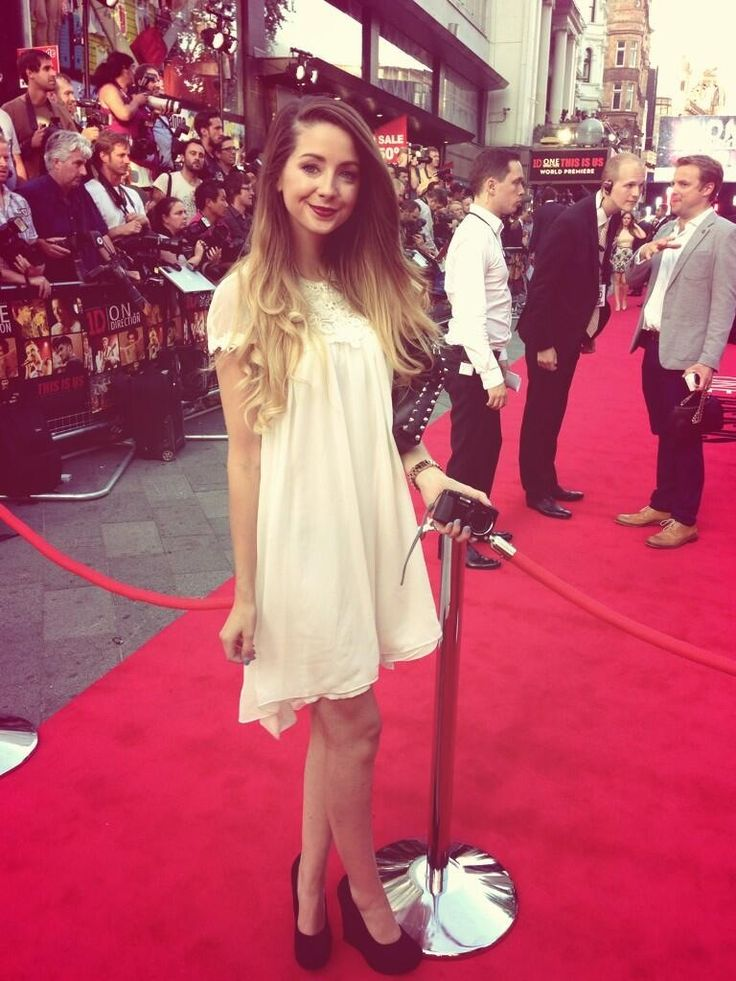 Zoe on the red carpet!