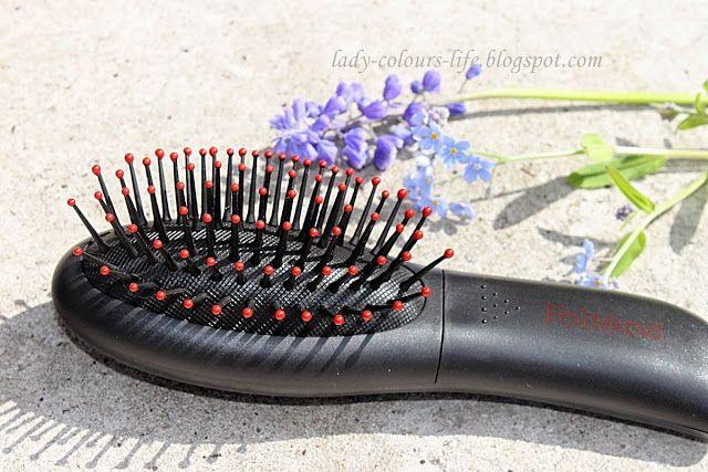 Lady Colours Life: Wibrująca szczotka do włosów Foltene Vibractive.