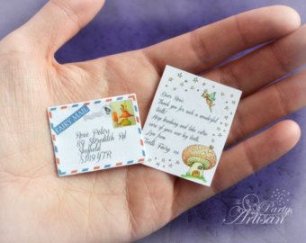 INSTANT EDITABLE Tiny Tooth Fairy letter AND by ThePartyArtisan