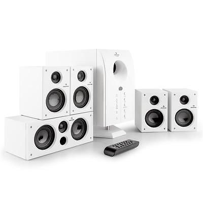 SISTEMA HOME CINEMA ACTIVO 5.1  ALTAVOCES SATELITES SUBWOOFER EQUIPO SURROUND