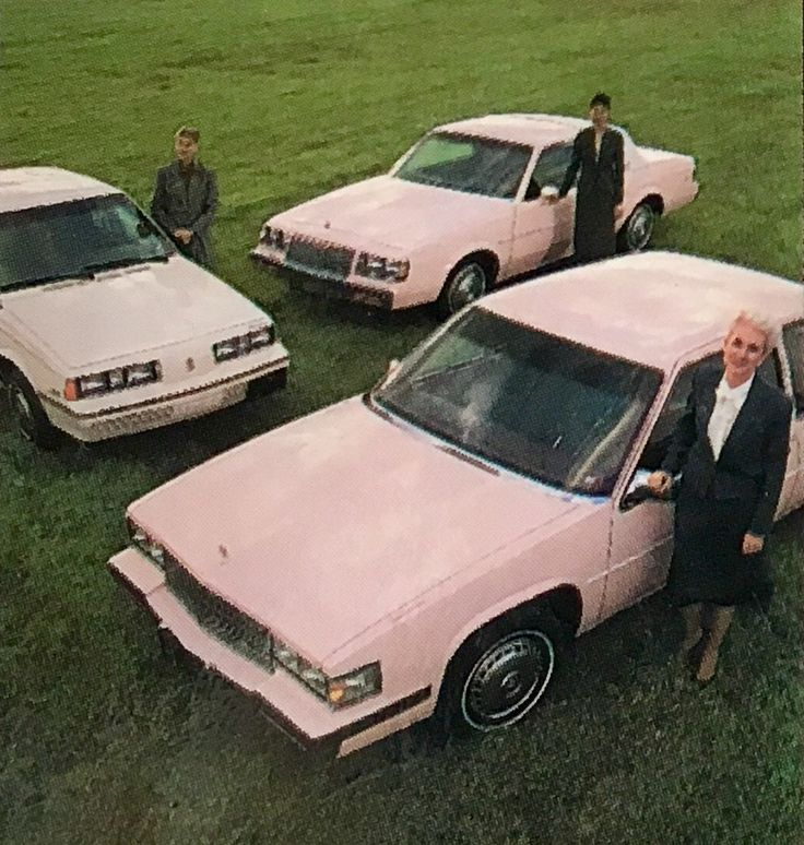 The Mary Kay pink car collection