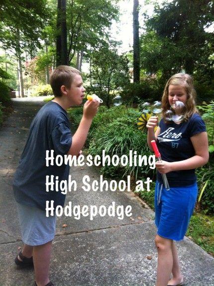 Homeschooling High School at Hodgepodge