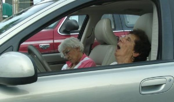 speeding ladies