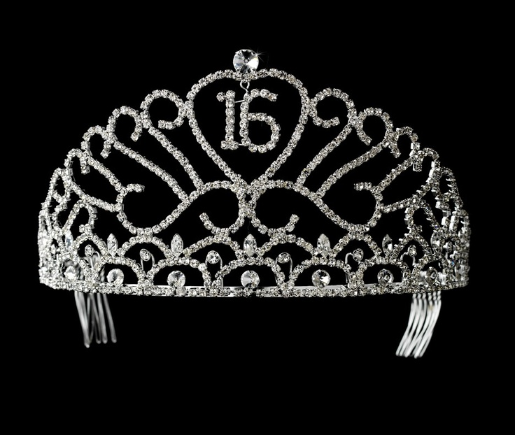 Real Fairytale Weddings Silver Spring Md: This Sweet Sixteen Tiara Is Gorgous And I Would Love To
