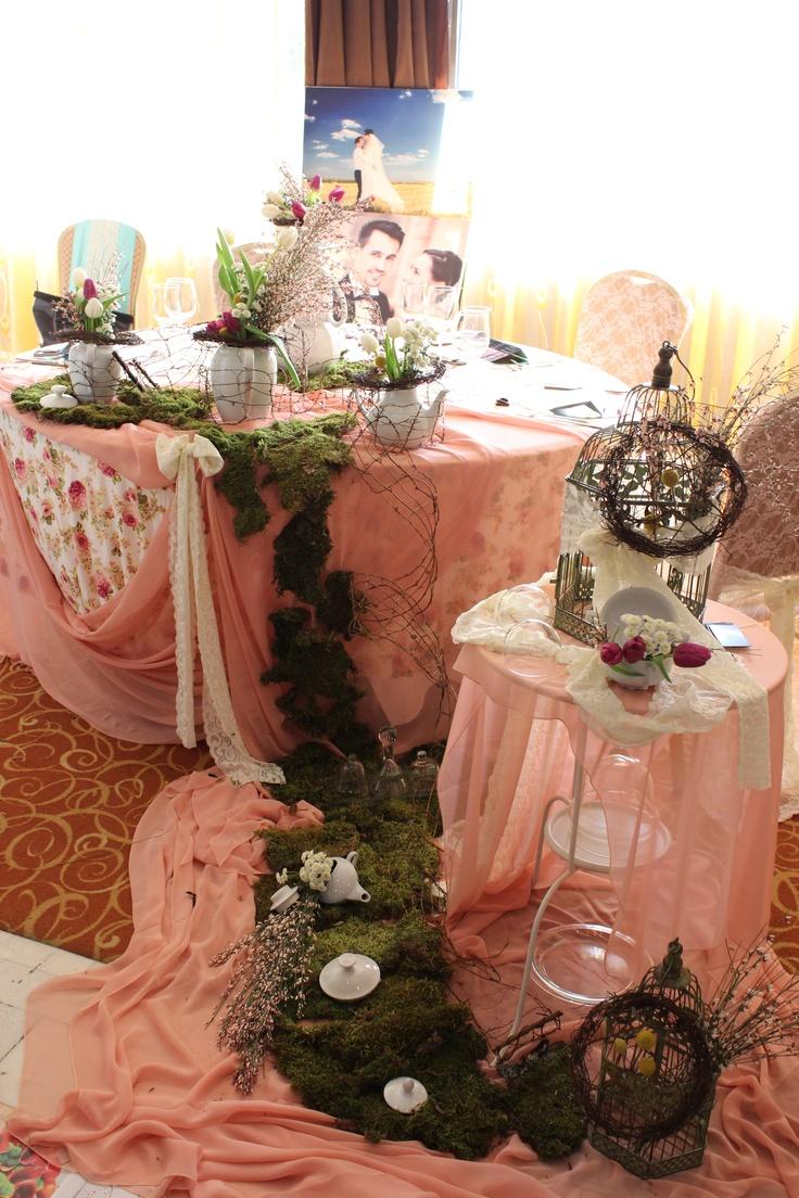 Aranjamente de masă - Tematica de ceai englezesc