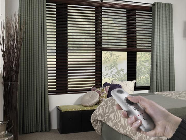 Best 25 motorized blinds ideas on pinterest motorized for Budget blinds motorized shades
