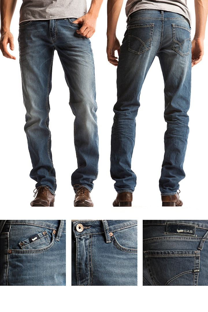 SS13 Men's Jeans. Fit: straight Model: Morris Zip