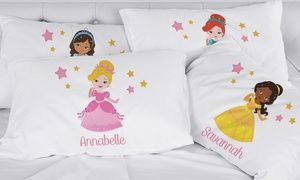 Groupon - Personalized Girl's Pillowcases with Custom Character From Monogram Online. Groupon deal price: $9.99