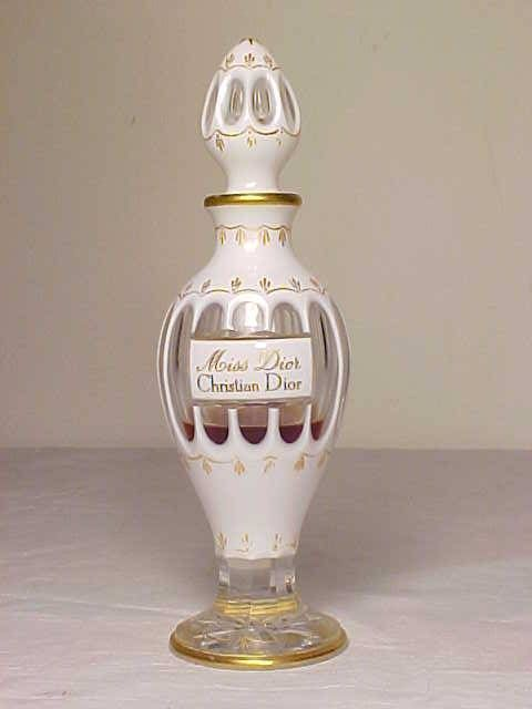 "Rare Vintage 1948 Baccarat ""Miss Dior"" Christian Dior Perfume Bottle"