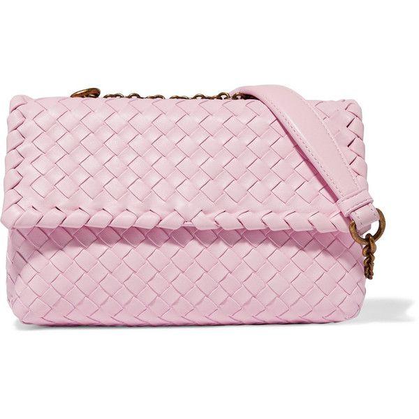 3666c05057 Cross body purses · Bottega Veneta Olimpia baby intrecciato leather  shoulder bag (134.575 RUB) ❤ liked on Polyvore