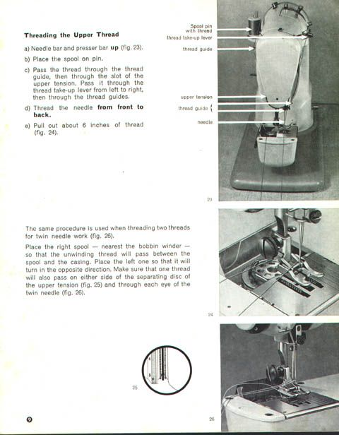 elna 1000 sewing machine manual english