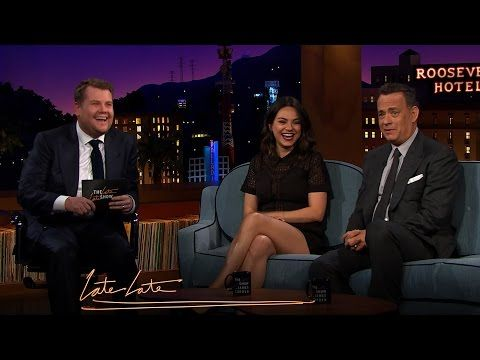 Mila Kunis and Tom Hanks Discuss Parenting, Marriage - YouTube