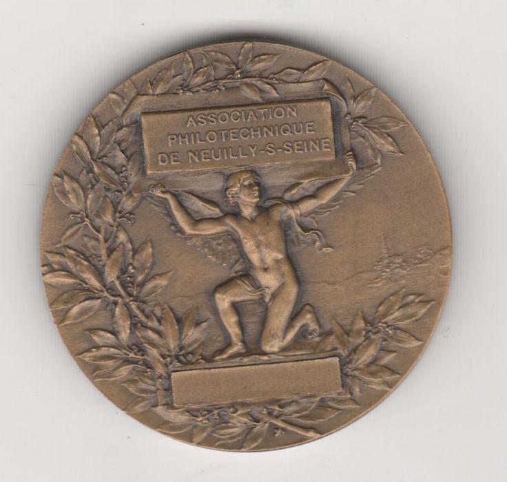 Французское искусство медаль-Даниил Дюпюи