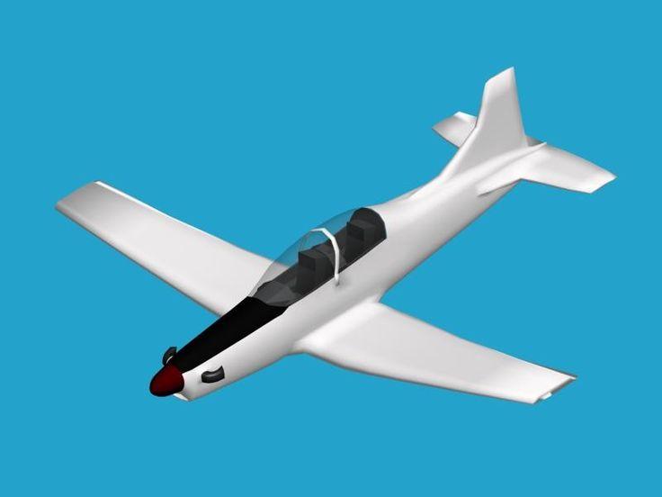 Pilatus Pc 9 3D Max - 3D Model