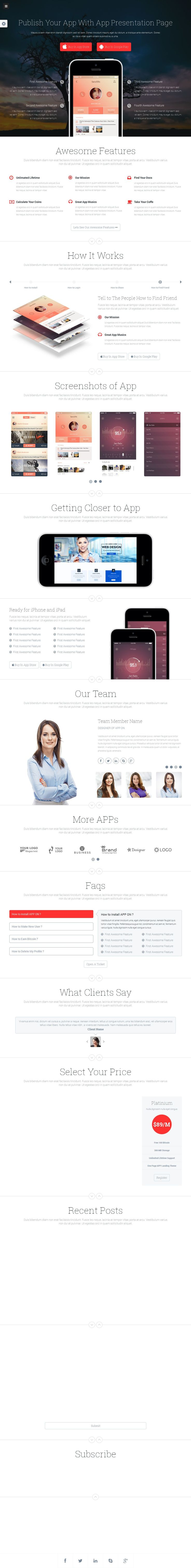 App on - Responsive App Landing Page Template | Buy and Download: http://themeforest.net/item/app-on-responsive-app-landing-page/7770343?WT.ac=category_thumb&WT.z_author=Jthemes&ref=ksioks