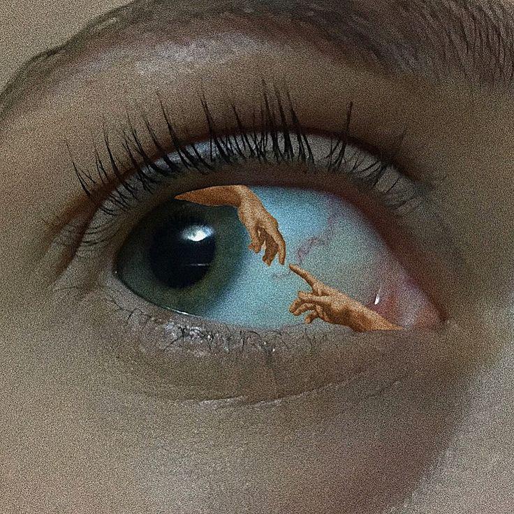 Aesthetic eye art. Follow me on insta @amphisbaena._