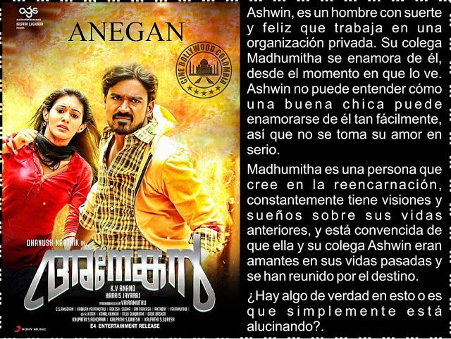 Cine Bollywood Colombia: ANEGAN